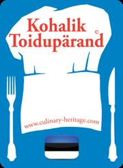 Label «Culinary Heritage» (Kohalik Toidupärand)